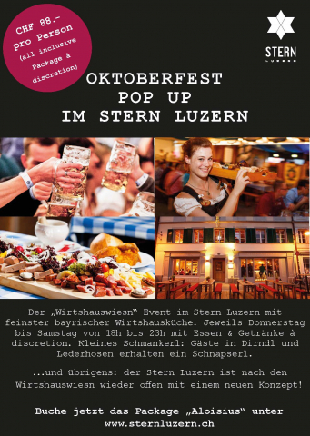 Wirtshauswiesn 2020 - das Oktoberfest Pop Up Event